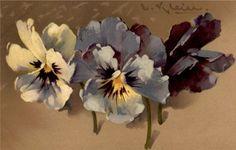 Ideas for tattoo flower vintage catherine klein Catherine Klein, Vintage Blume Tattoo, Vintage Flower Tattoo, Vintage Flowers, Vintage Prints, Vintage Art, Flowers Quotes Tumblr, Flower Garden Design, Flower Bird
