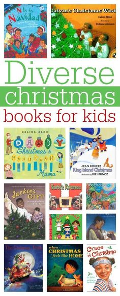Diversity in Picture books about Christmas from @noflashcards #ReadYourWorld #diversebooks #KidLit From @noflashcards