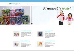 현대FNB 영문홈페이지 제작사례 - 식품음료제조업체