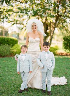 Fashionable Florida Wedding by Justin DeMutiis - Southern Weddings Magazine