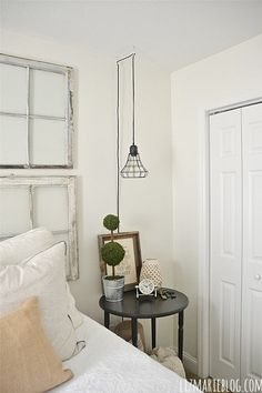 30 Outstanding Hanging Bedside Lights Ideas | 30th, Lights and Bedrooms