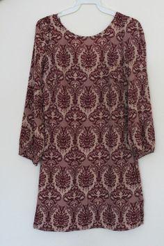 Bakit Up Dress (Burgundy)