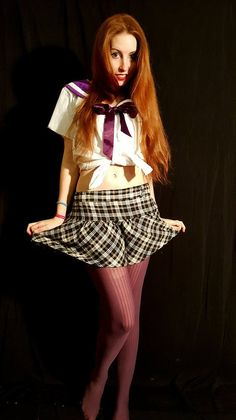 A story about the genesis of our Anime schoolgirl costume in South Africa. The revised edition of this shirt is ideal for cosplay costumes. School Blazer, School Shirts, Slice Of Life Anime, Bold Hair Color, Anime School Girl, Japanese School Uniform, Japanese Streetwear, Sailor Collar, White Blonde