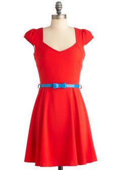 Very Berry Charming Dress in Cherries | Mod Retro Vintage Dresses | ModCloth.com