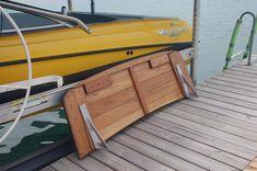 Image result for sailboat transom platform