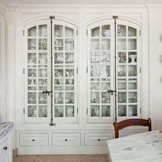Dream Kitchen Design Ideas: Built-In China Cabinet