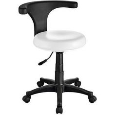 PediPodo Massage Stool - Backrest & Rotation - by USA Salon & Spa. The PediPodo is a modern and comfortable stool that will look great on any workspace. Thing 1, Tattoo Supplies, Massage Therapy, Salons, Chair, Modern, Spas, Pu Leather, Upholstery