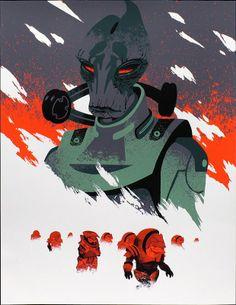 Mass Effect Poster Art   clair en tout cas. Si ça vous plaît, dépêchez-vous, ce poster ...