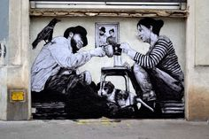 by Levalet - Relogement / close-up - 29.05.2014