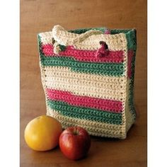 Bag to Crochet | YarnInspirations | Free Pattern