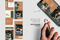 Podcast ig stories and posts keynote by rivatxfz Instagram Design, Instagram Story, Instagram Posts, Instagram Feed, Company Presentation, Coffee Barista, Editing Pictures, Marketing Materials, Keynote Template