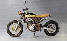 Discover a handful of my favorite builds - handpicked scrambler hybrids like Motos Vintage, Vintage Motorcycles, Custom Motorcycles, Custom Bikes, Bmw Motorcycles, Honda Scrambler, Scrambler Motorcycle, Yamaha, Tracker Motorcycle
