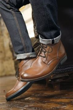 Tan Chukka Boot