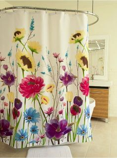 I Need To Girly Up The Bathroom Dkny Watercolor Bouquet