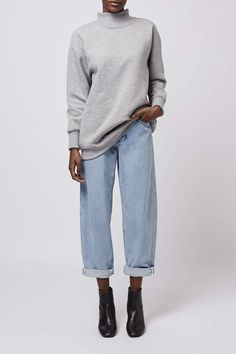 Bleach Wash Boy Jeans by Boutique
