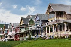 Martha's Vineyard-the gingerbread houses