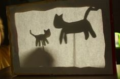 A recycled cereal box makes the perfect little theater for a shadow puppet show! Puppet Show, Puppet Theatre, Children's Theatre, American Heritage Girls, Traditional Stories, Diy Shadow Box, Cat Activity, Craft Activities For Kids, Kids Crafts