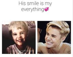 Image about smile in Justin Bieber ✨ by The girl who can't be saved