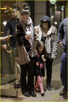 Katie Holmes and Suri Cruise. ::: Love mama and baby shopping trips. :)