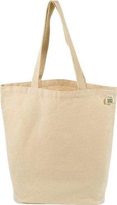 Amazon.com: ECOBAGS® - Recycled Cotton Tote, Natural: Reusable Lunch Bags: Home & Kitchen