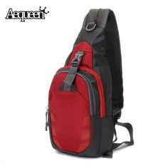 Unisex Nylon Chest Bag Back Pack Crossbody Shoulder Bags Men Women Diagonal Package  Rucksacks 2016 Hot