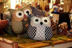 New style owl cushion.