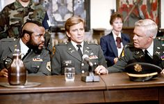 The A-Team - Mr. T, Dirk Benedict and George Peppard