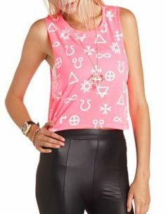 geo graphic muscle tank