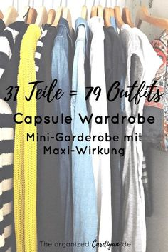 31 Teile = 79 Outfits – Meine Frühlings- & Sommer-Capsule Wardrobe Spring and Summer Capsule Wardrobe – With 31 parts to 79 outfits. Mini wardrobe with maxi effect Capsule Wardrobe, Wardrobe Sets, Capsule Outfits, Summer Wardrobe, Capsule Clothing, Brooklyn Blonde, Minimalist Fashion Summer, Carnival Outfits, Minimalist Wardrobe