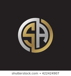Similar Images, Stock Photos & Vectors of ST initial letters looping linked circle elegant logo golden silver black background - 422424847 S Logo Design, Graphisches Design, Lettering Design, Sr Logo, Logo Ad, Restaurant Logo, Logo Sketches, Photographer Logo, Initials Logo