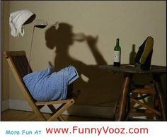 nice Look At Shadow - funny pictures