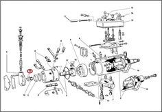 The CAV Distributor Type Fuel Injection Pump Type DPA
