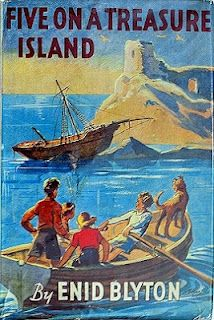 One of the many Famous Five books I had. I think I nearly had the full set. Still have them in the attic.