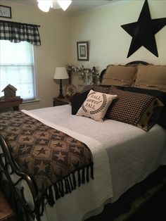 Love the throw on the end of the bed