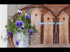 YouTube I Wait For You, Natural Garden, Pansies, Spring Time, Make It Yourself, Youtube, Summer, Summer Time, Youtubers