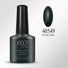 CCO Nail Gel Polish Elegant Blue & Green Solid Color Series Soak off UV/LED Gel Nail Varnish Lacquer Gelpolish For Nail Makeup
