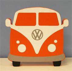 Honk if you love crafting!   #wood #VW-bus #vinyl
