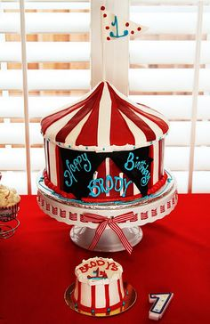 Great Circus Theme Cake
