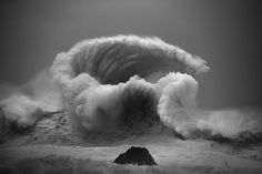 Picturesque images of waves crashing and surfers from around the world Waves crashing in the middle of the ocean have been documented by Australian photographer Luke Shadbolt in a series of incredible Waves Photography, Photography Awards, Landscape Photography, Photography Hacks, Landscape Photos, No Wave, Wall Of Water, Ocean Pictures, Beach Images