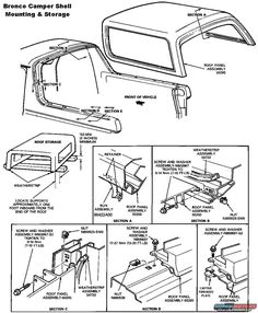 Back Glass Upper Run Weather Stripping - Ford Bronco Forum 87 Chevy Truck, Bronco Truck, Jeep Truck, Ford Bronco 1996, Ford 4x4, Ford Bronco Concept, F100, Camper Tops, Bolt Threads