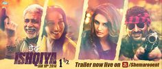 Watch Dedh Ishqiya Official Trailer starrer Arsad Warsi, Naseeruddin Shah, Huma Quereshi and Madhuri Sixit