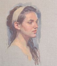 How to Paint Fleshtones for a Portrait: A Free Demonstration