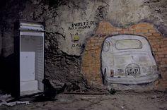 #Cosenza, corso #Telesio - La piazza invisibile - © Massimiliano Palumbo http://unsolosguardo.wordpress.com/2013/07/04/118/
