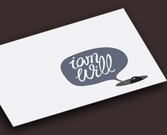 I Am Will Business Card