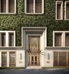 Internationally-renowned architect Robert Stern has designed The Morgan, a residential development slated to open in Hong Kong in 2016 Neoclassical Architecture, Classic Architecture, Islamic Architecture, Facade Architecture, Entrance Design, Facade Design, Exterior Design, Villa Design, Classic Building