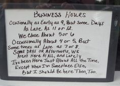 How flexible are your business hours?