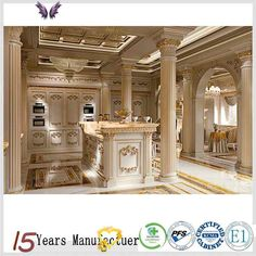 Source China Made Royal Wood Kitchen Cabinet Furniture Design on m.alibaba.com<br> Solid Wood Cabinets, Wood Kitchen Cabinets, Cabinet Furniture, Furniture Design, Cabinet Styles, Quartz Countertops, Wood Veneer, Country Kitchen, China
