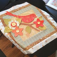 Center of baby quilt.