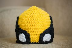 crochet hat pattern wolverine | ... and the wings were adapted from this pattern for Captain America