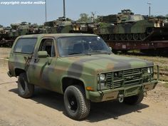 Commercial Utility Cargo Vehicle   M1009 CUCV (Commercial Utility Cargo Vehicle) auf Basis Chevrolet ...